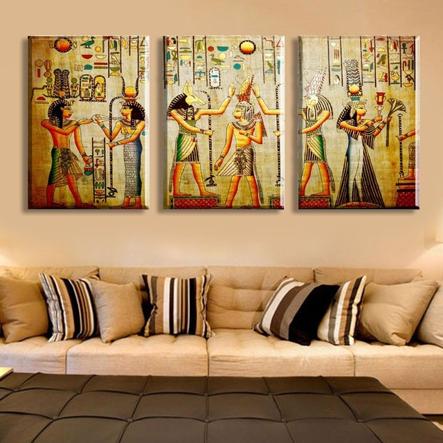 Classcal decorative painting a large art wall art print of Ancient ...