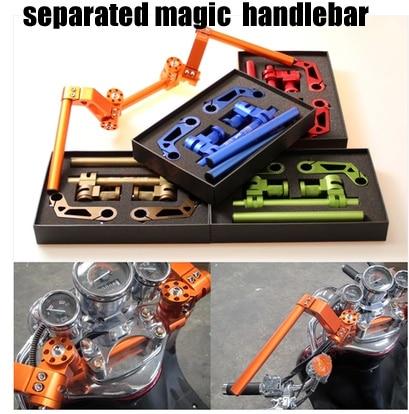 Aluminum alloy handle bar  motorcycle  modified handlebar  Motorcycle   modified pedal  separated handle magic  handlebar motorcycle aluminum alloy