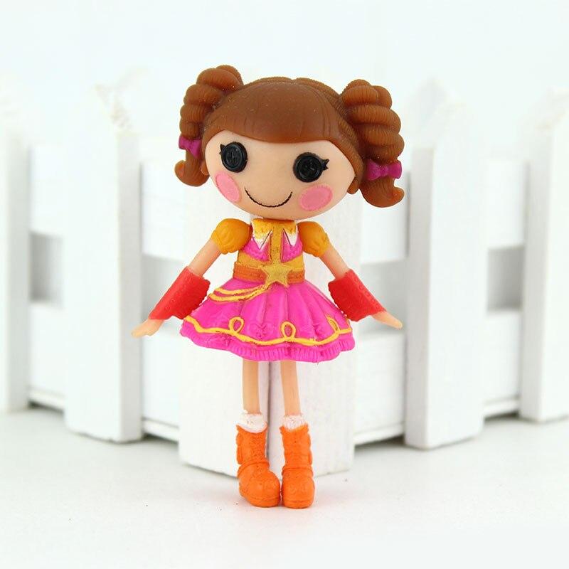 1 pcs 3 Pollici Originale MGA Lalaloopsy Bambole Mini Bambole Per La Ragazza Toy Playhouse Ognuna Unica