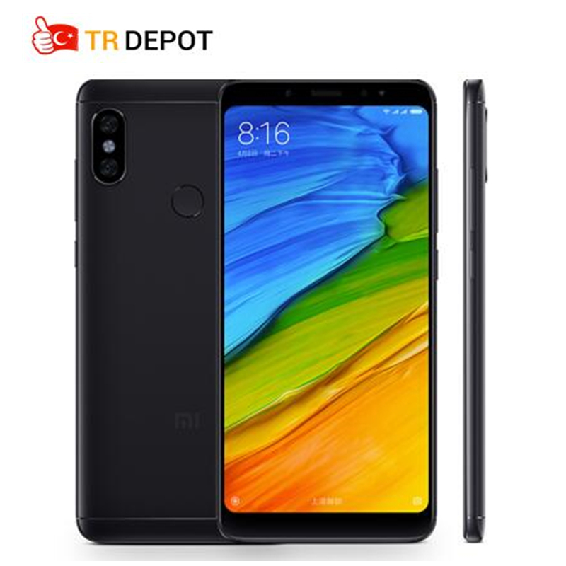 2018 D'origine Xiaomi Redmi Note 5 Pro Snapdragon 636 5.99 FHD 4/6 gb RAM 64 gb ROM 4g TD LTE Smartphone AI 13.0MP 4000 mah