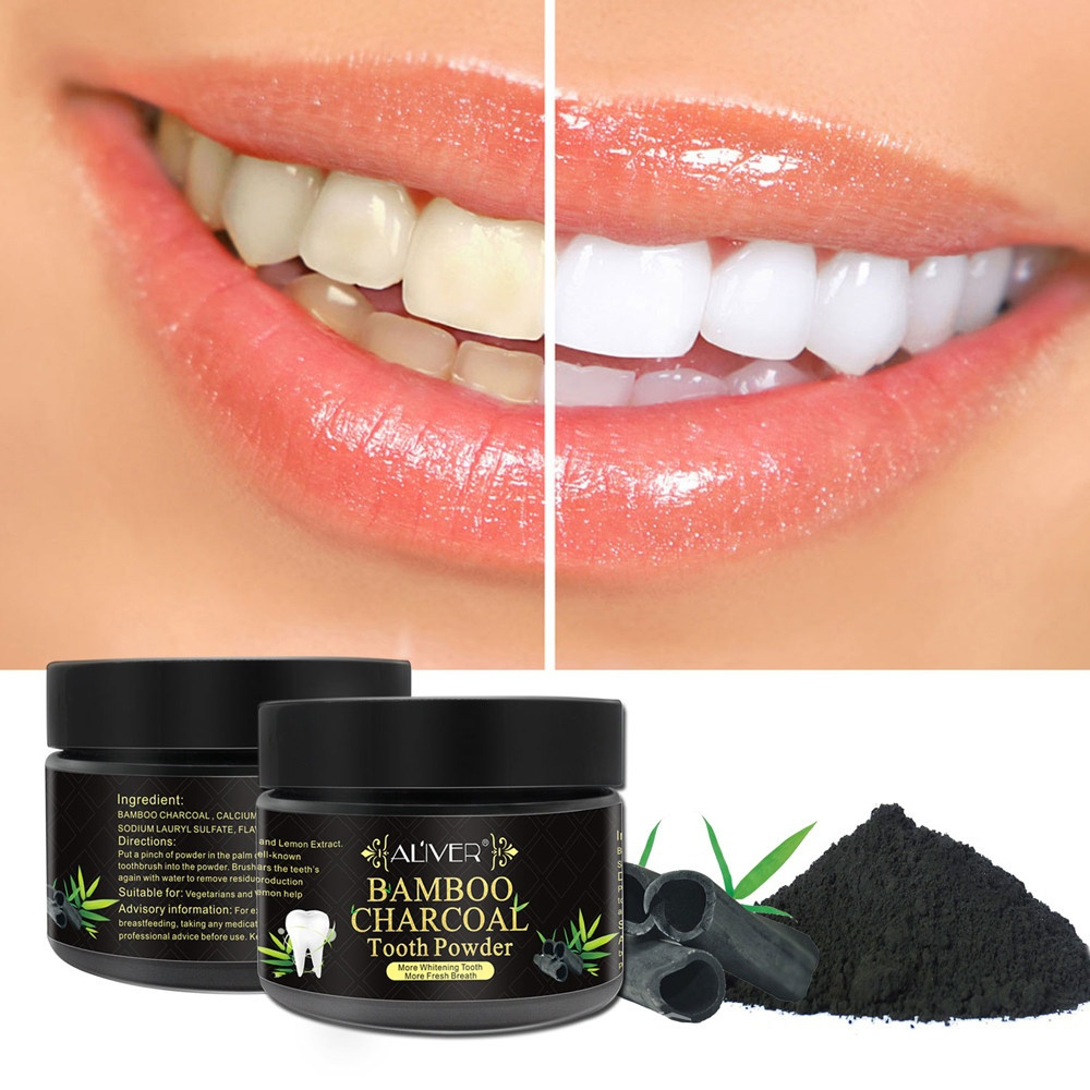 teeth whitening powder natural activated charcoal whitening tooth teeth powder in teeth. Black Bedroom Furniture Sets. Home Design Ideas