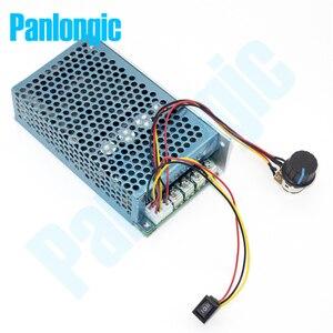 Image 2 - 10 50V 100A 5000W Reversible DC Motor Speed Regulator PWM Controller 12V 24V 36V 48V Soft Start Forward Stop Reversal Switch
