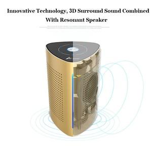 Image 3 - Adin Metalen 36W Draadloze Bluetooth Nfc Speaker Resonantie Stereo 3D Hifi Surround Subwoofer Touch Control Met Microfoon Luidspreker