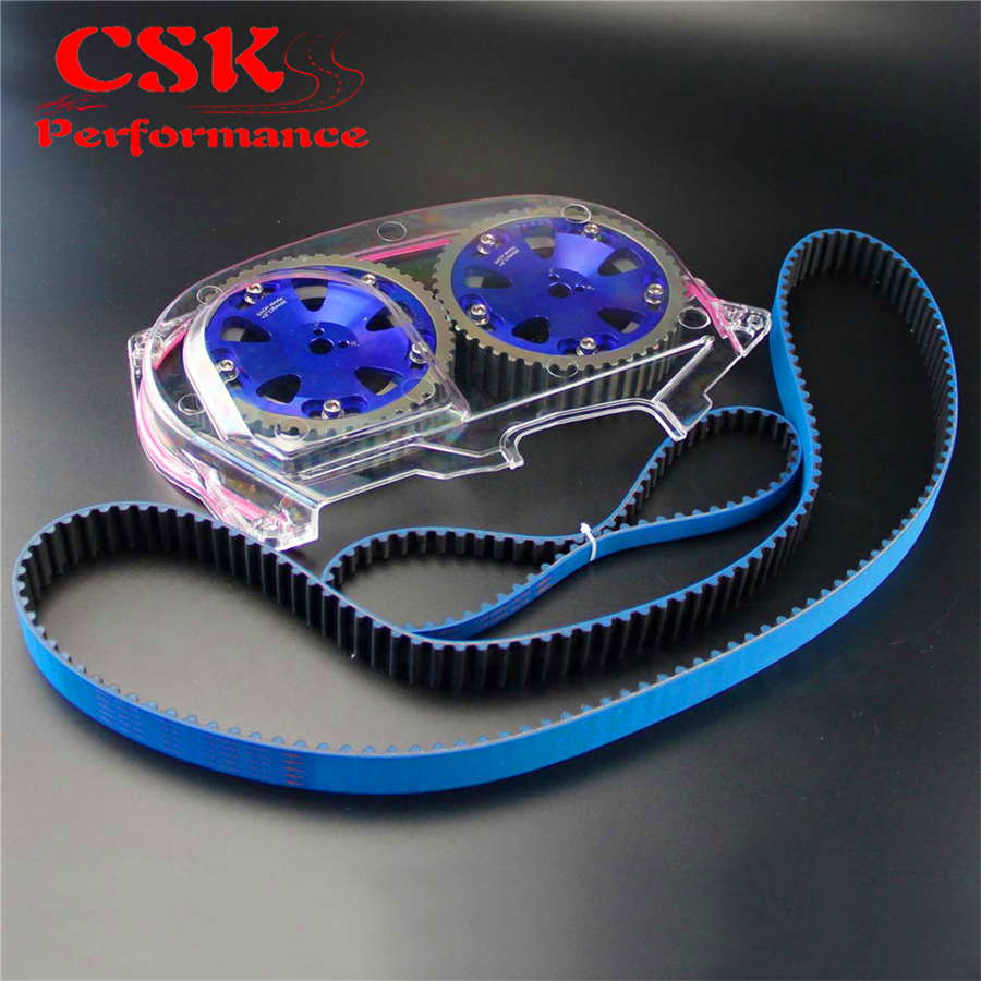 Timing Belt W Balance Cam Gear Clear Cover Fits For Lancer Mitsubishi Evo 9 Ix 4g63 On Alibaba Group