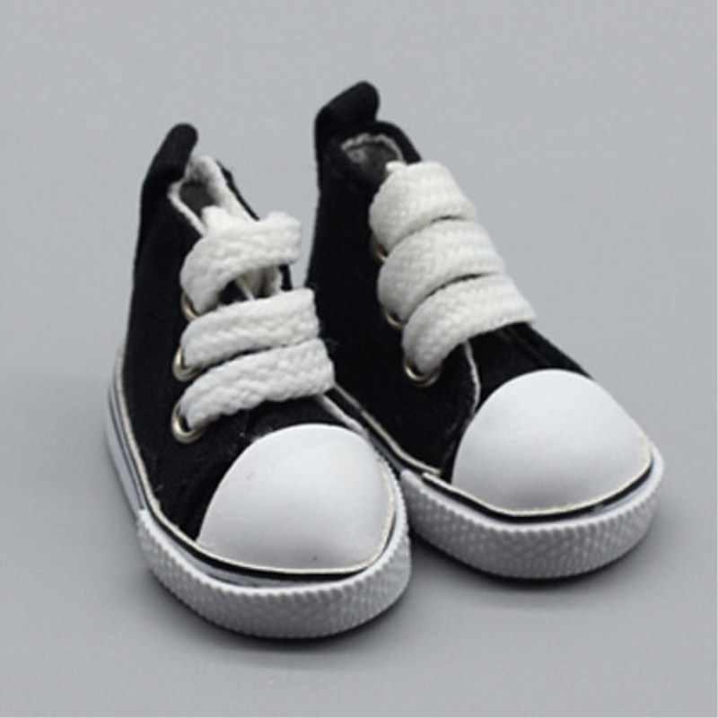 Мини обувь для куклы Bjd Модная обувь на русском языке кукла на полотне обувь DIY ручной работы кукла аксессуары для куклы игрушки для Детские 1 пара