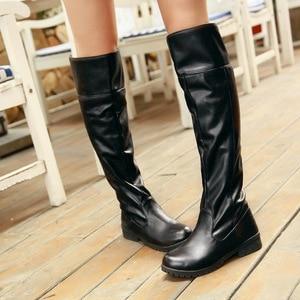 Image 2 - 2019 women attack on titan 코스프레 롱 부츠 shingeki no kyojin 무릎 부츠 eren jaeger ackerman shoes