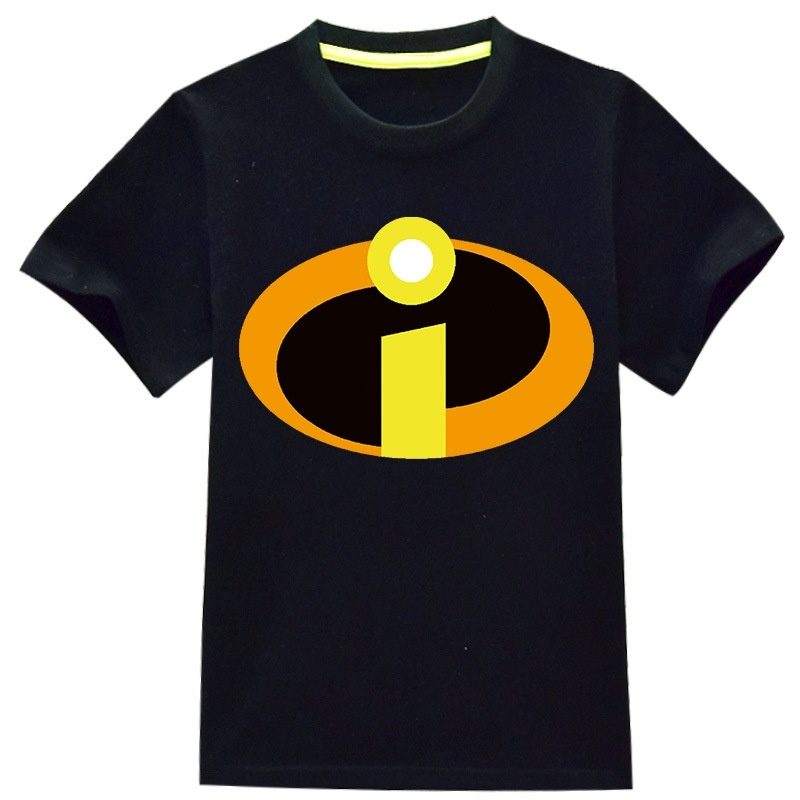 Kids' The Incredibles T-Shirt Children Boys T Shirt Summer Baby Kids Boys Tops Tee T Shirts