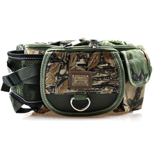 30x9x14cm Multifunctional Carp Fishing Bag 218g Army Green Camouflage Pesca Fishing tools Bags Fishing Tackle Bag For Fishing