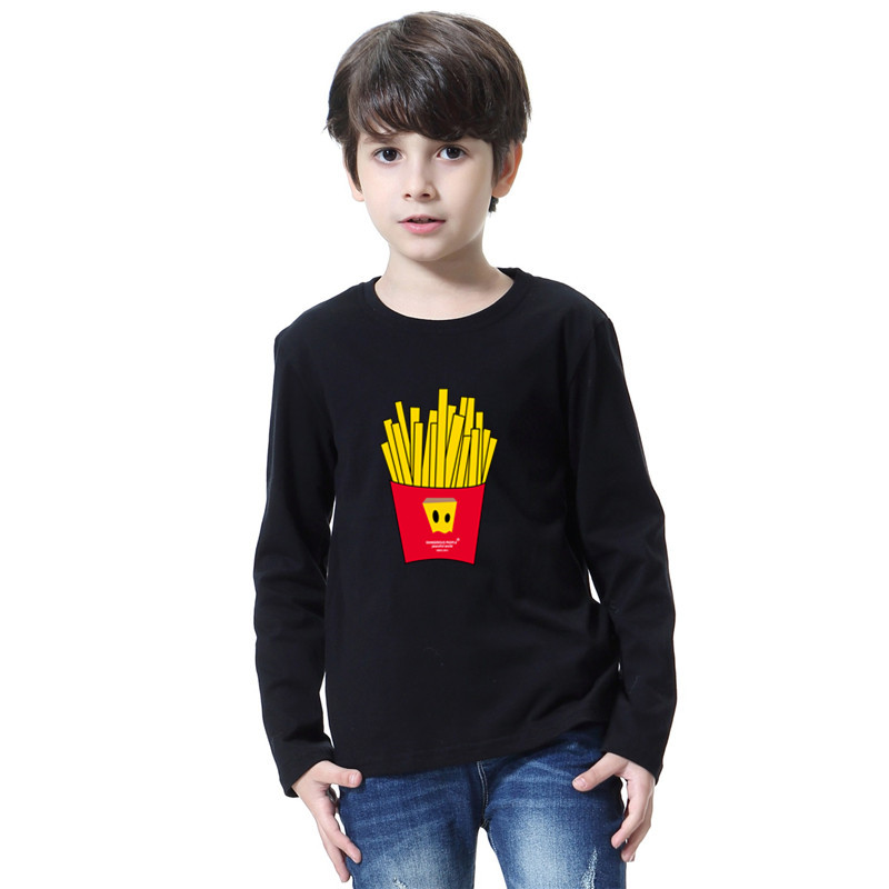 New 2018 Spring Autumn Boys Kids T Shirts Baby Girls