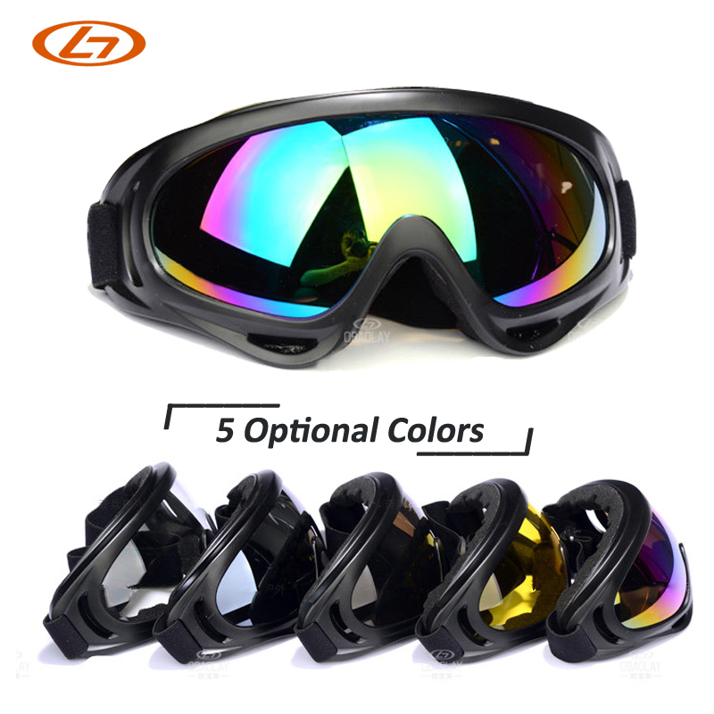 5 Lens Colors Dust proof Ski Sunglasses Cycling Hiking Outdoor Sports Goggles Skate font b Eyewear