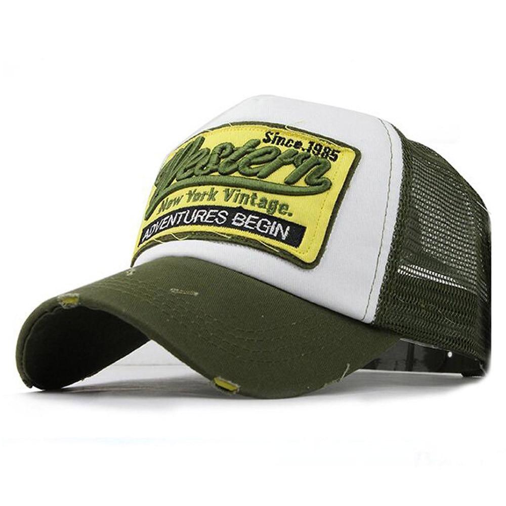 2019 Summer Adjustable Embroidered Summer   Cap   Mesh Hats For Men Women Casual Hats Hip Hop   Baseball     Caps