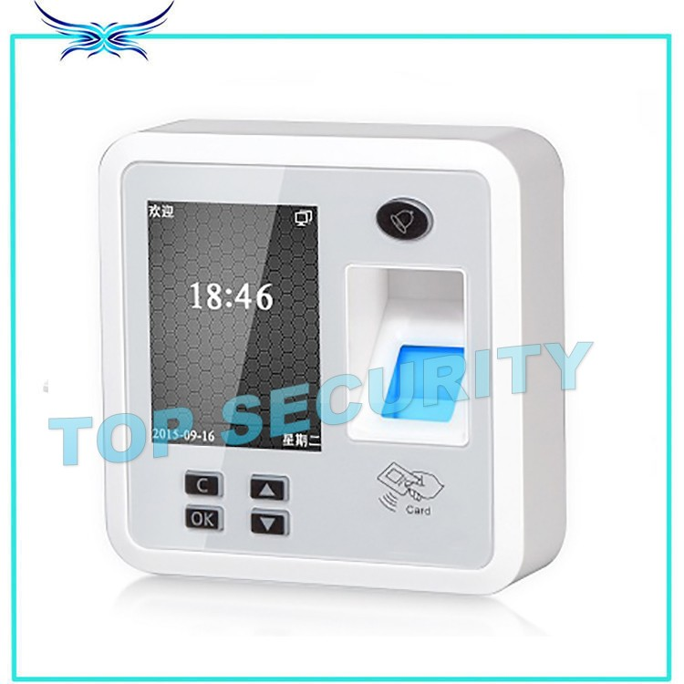 Fingerprint and RFID card time attendance and access control system TCP/IP communication standalone access control reader