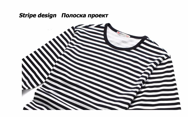 cd32eebeafcd מוצר - E-BAIHUI brand Autumn Casual Striped T Shirt Men Long Sleeve ...