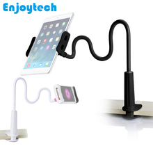 80cm Long Arm 360 Degree Flexible Mobile Phone Holder Lazy Cellphone Stand for Ipad Bed Desktop Tablet Mount mini desktop stand holder for cellphone grey
