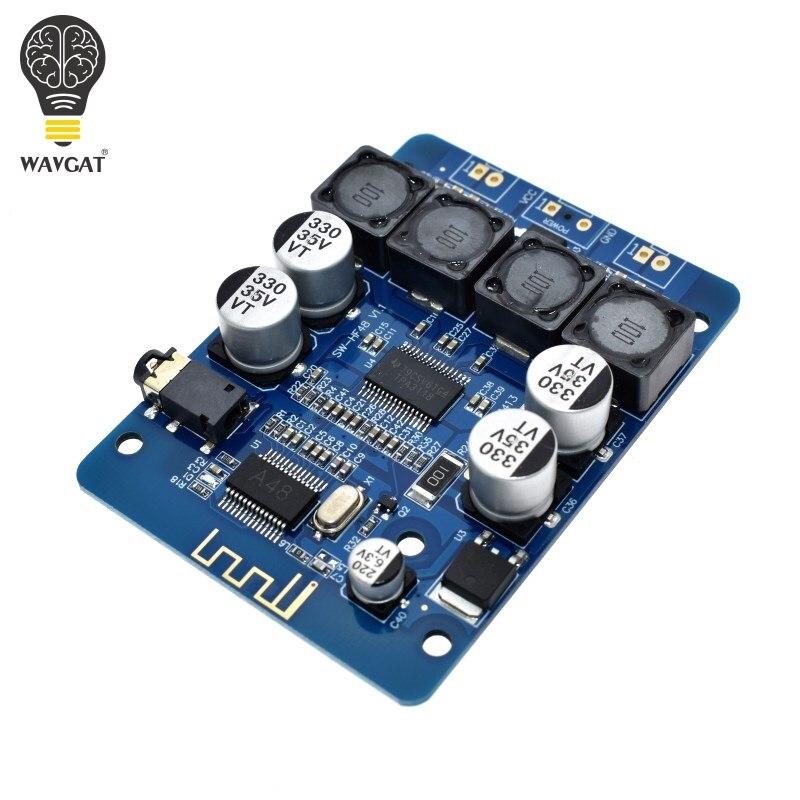 WAVGAT TPA3118 2x30 W DC 8-26 V estéreo de audio Bluetooth amplificador Digital de potencia de junta para diy juguetes modelo amplificador amplificadores
