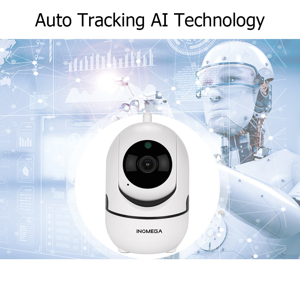 US $15 91 40% OFF|INQMEGA 1080P Cloud Wireless IP Camera Intelligent Auto  Tracking Of Human Home Security Surveillance CCTV Network Mini Wifi Cam-in