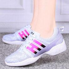 Купить с кэшбэком Thick Heel Rubber Breathable Women Walking Shoes Zapatos Mujer Pink Sneakers Outdoor Female Sport Shoes Women Girls Footwear Big