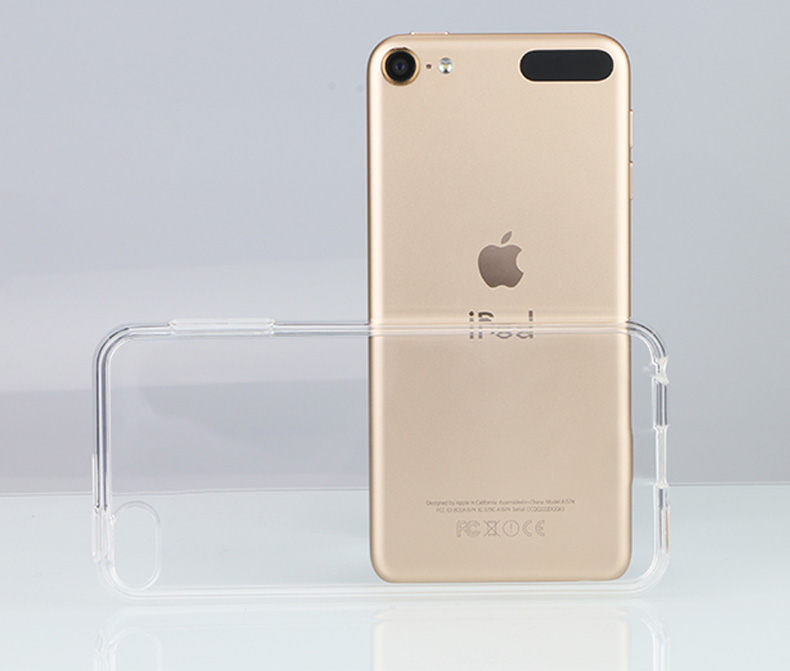 Image 2 - Crystal Transparent Soft Silicone TPU Case For Apple iPod Touch 5 6 Skin cases itouch 5th 6th back cover clear fundas coque capa-in MP3/MP4 Bags & Cases from Consumer Electronics