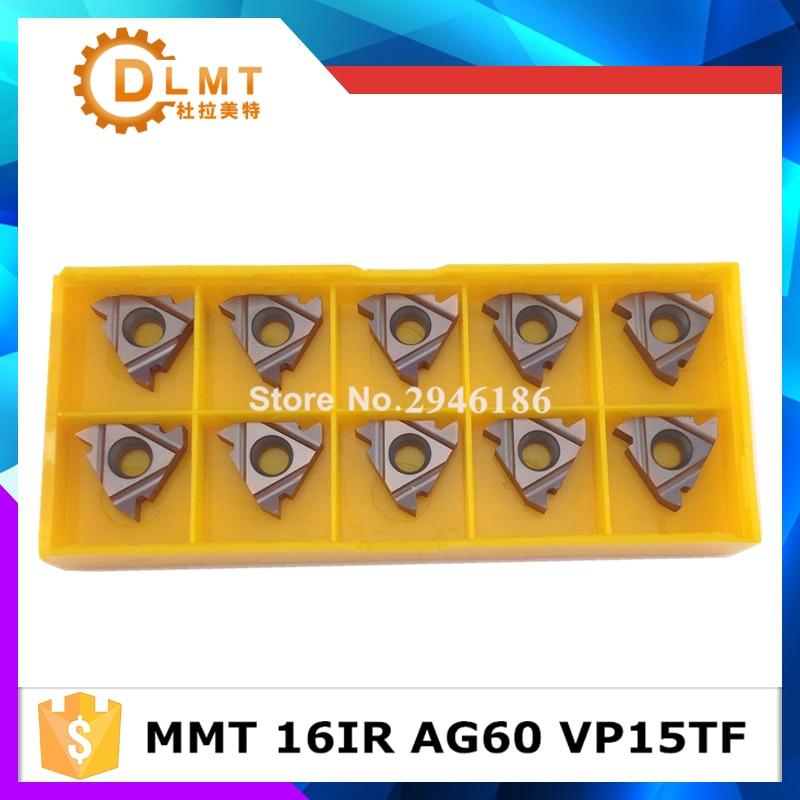 10 db MMT 16IR AG55 AG60 VP15TF menetvágó szerszámok Keményfém - Szerszámgépek és tartozékok - Fénykép 2