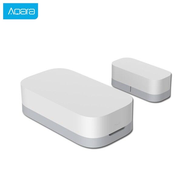 Aqara דלת חלון חיישן Zigbee אלחוטי חיבור חכם מיני דלת חיישן לעבוד עם אנדרואיד IOS App בקרה