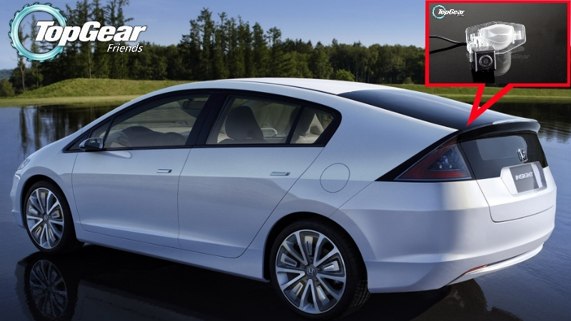 For Honda Insight 5D 2010~2015 12 13 Car Parking Rear View Backup Reverse Camera