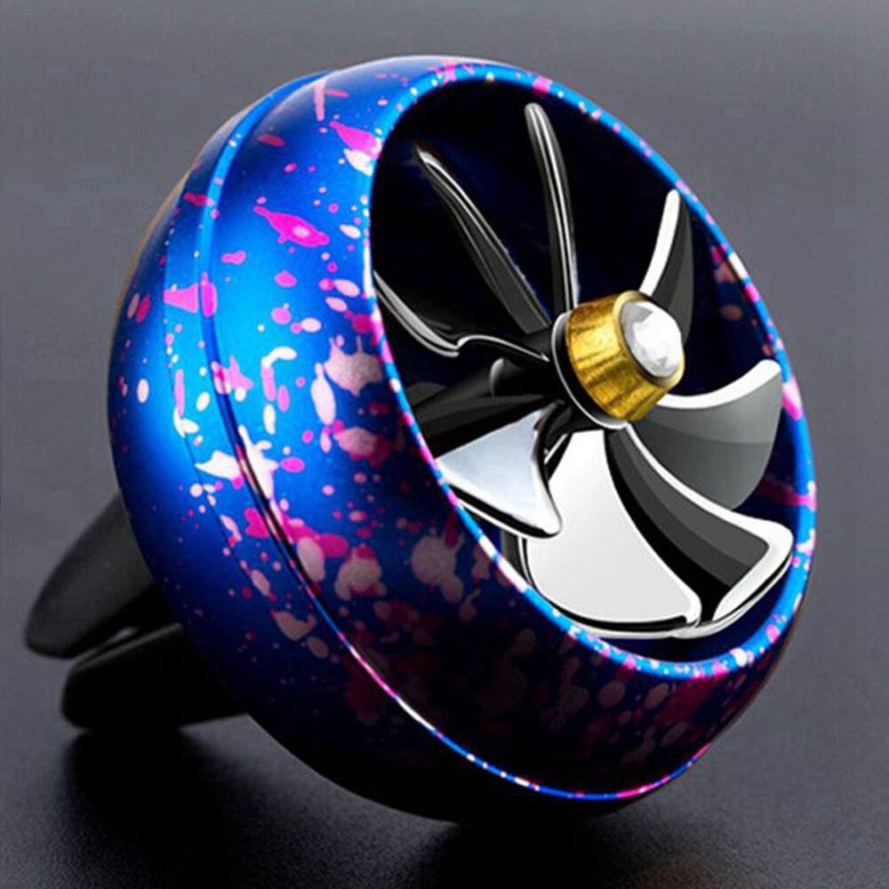 5 colores disponibles aleación de Zinc saborizante en coche delicado calidad ambientador para Auto automóviles aire Perfumes Accesorios