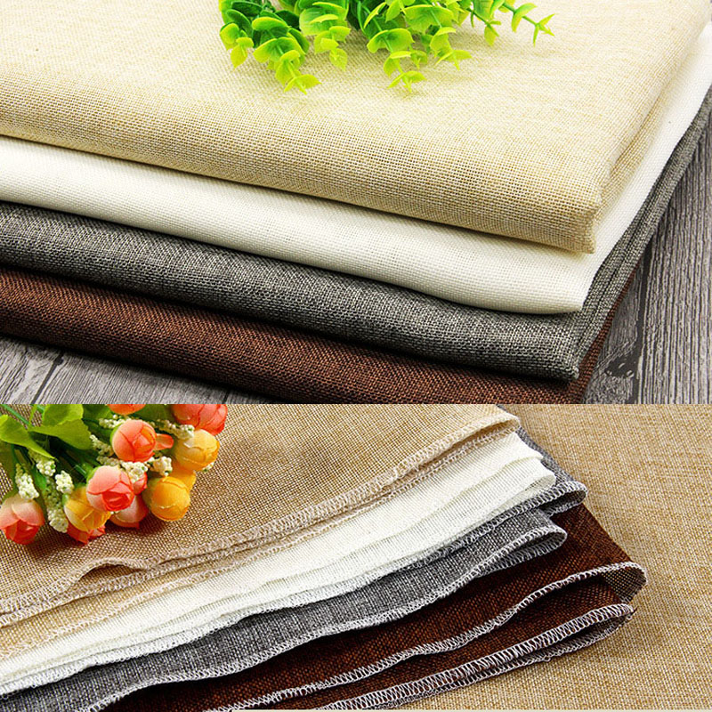 Inventive Roadfisher Flower Floral Flax Linen Look Like Photography Background Backdrop Diy Sawing Fabric Desk Table Cloth Shooting Tool Camera/video Bags Accessories & Parts