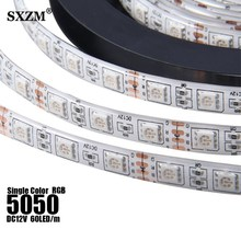 LED Strip 5050 RGB Warm white lights 12V Flexible Home Decoration Lighting SMD 5050 Waterproof/Non-Waterproof LED Tape