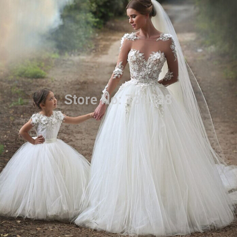 Gorgeous Ball Gown Wedding dress Appliques Pearls Beadings Lace ...