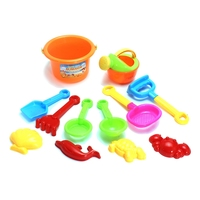Newest Kids Children Sand Beach Bucket Toys Set Of 12 Classic Toys Bathroom Funny Toys Sunglass