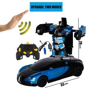Image 5 - 2019 Горячая продажа 1/14 дистанционный контроль автомобиля датчик жестов деформация rc автомобилей