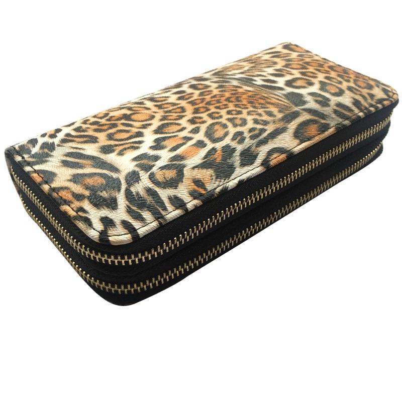 MIRROR-SUNNY-Fashion-leopard-PU-women-long-wallet-PU-leather-lady-double-zipper-wallet-female-multi