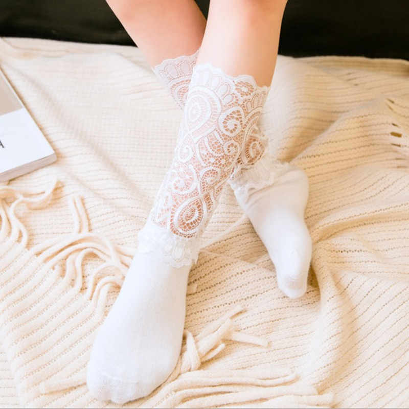 1247aa940 Detail Feedback Questions about Children s lace socks Baby Princess ...