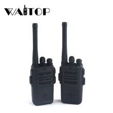 2 pièces enfants jouet talkie walkie Portable Radio Interphone électronique enfants Interphone Juguete Mini Woki Toki poignée Radio bidirectionnelle