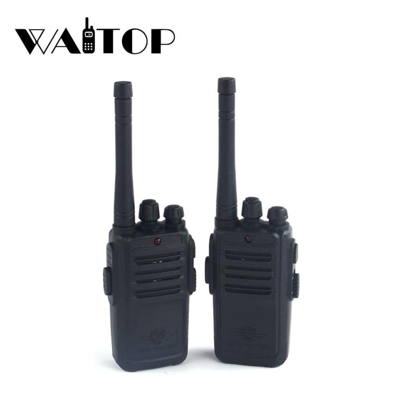 2Pcs Children Toy Walkie Talkie Portable Radio Electronic Intercom  Kids Interphone Juguete Mini Woki Toki Handle Two Way Radio