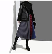 Tutu Real limitada poliéster algodón ninguno de las mujeres envío gratis 2019 faldas estilo Otoño e Invierno cintura alta costura una palabra falda