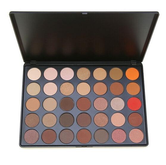 Hot sale 35 Color Eyeshadow Palette Earth Warm Color Shimmer Matte Beauty Makeup Set Smoky Nude Eyeshadow E35#