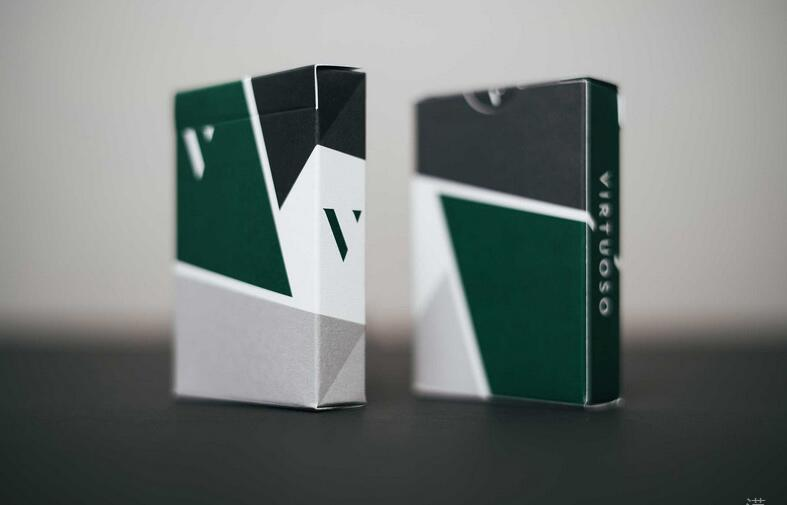 Image 3 - Virtuoso Fall Winter 2017 FW17 Playing Cards by The Virts New Edition Premium Cardistry Deck Magic Trick Props Magic Cards-in Magic Tricks from Toys & Hobbies
