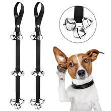 """Dog DoorBell for Potty Training Door Bell Ring Bells Adjustable Great Housebreaking 7 Extra Large Loud 1.4"""""""