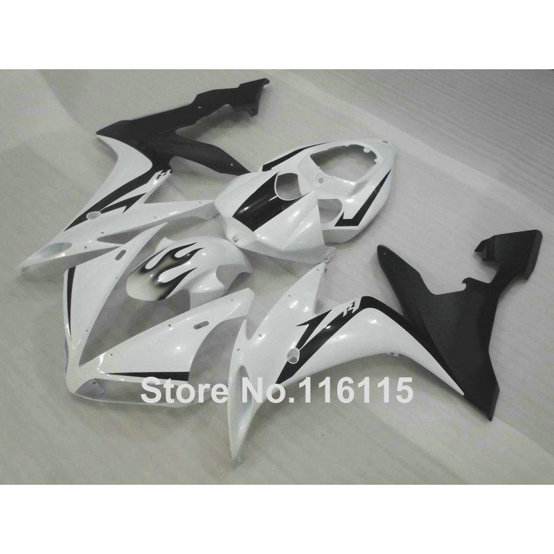 Injection molding free customize fairing kit for YAMAHA YZF R1 2004 2005 2006 white black plastic fairings set YZF-R1 04-06 CY50 motorcycle injection molding fairing kit for yamaha yzf r1 yzfr1 yzf r1 2004 2005 2006 04 05 06 bodywork fairings blue uv paint
