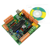 Integrated Circuit 4 Axis USB CNC Controller Interface Board CNCUSB MK1 USBCNC 2 1 Substitute MACH3