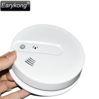 2015 New Free Shipping High Quality GSM Alarm System 433MHz Smoke Temperature Detector For Wireless Home