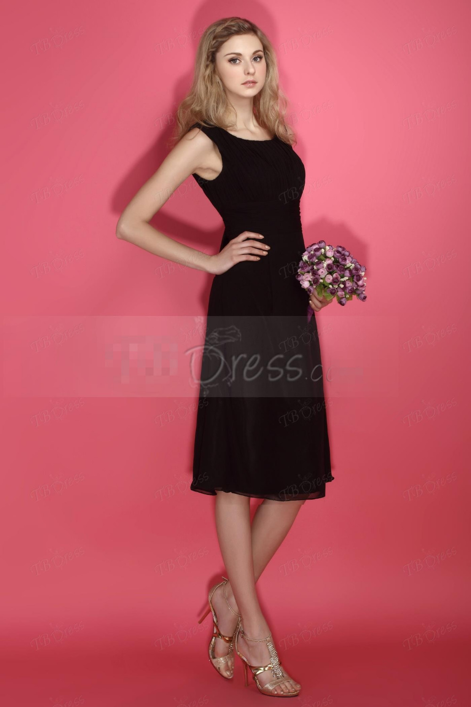 Magnífico Vestido Negro Elegante Para La Boda Embellecimiento ...