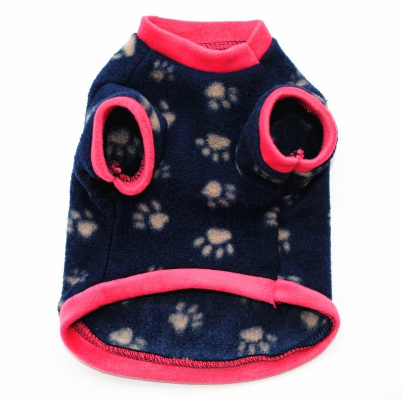 Теплый флисовый лежак для животных Одежда для собак с изображением черепа; Пальто любимчика щенка футболка для собак куртка панель в форме французского бульдога пуловер камуфляжной расцветки для собак, одежда для собак-4