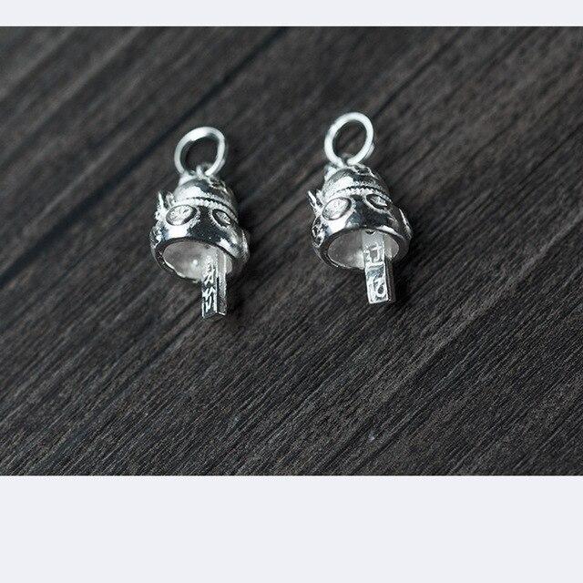 Фото uqbing оптовые аксессуары из настоящего серебра подвески маленького цена