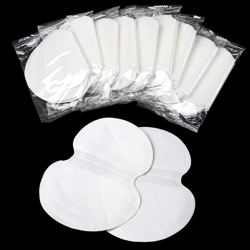 20/30/50pcs Armpits Sweat Pads Summer Dress Underarm Deodorant Shield Gasket  Absorbing Perspiration Disposable Anti Sweat Pads