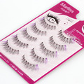 Natural Long False Eyelashes Colored Crisscross Thick Full Fake Lashes Purple Mink Eyelash Extensions Kits Cilios S-5