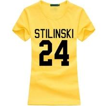 STILINSKI 24 Print Hipster T-shirt Women 2017 summer funny cotton Casual Tee shirt femme fashion brand harajuku kawaii punk tops
