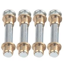 Комплект для ремонта дверных петель, комплект втулок для дверных петель для Nissan Navara 97-05 D22 с высокой прочностью и устойчивостью к коррозии