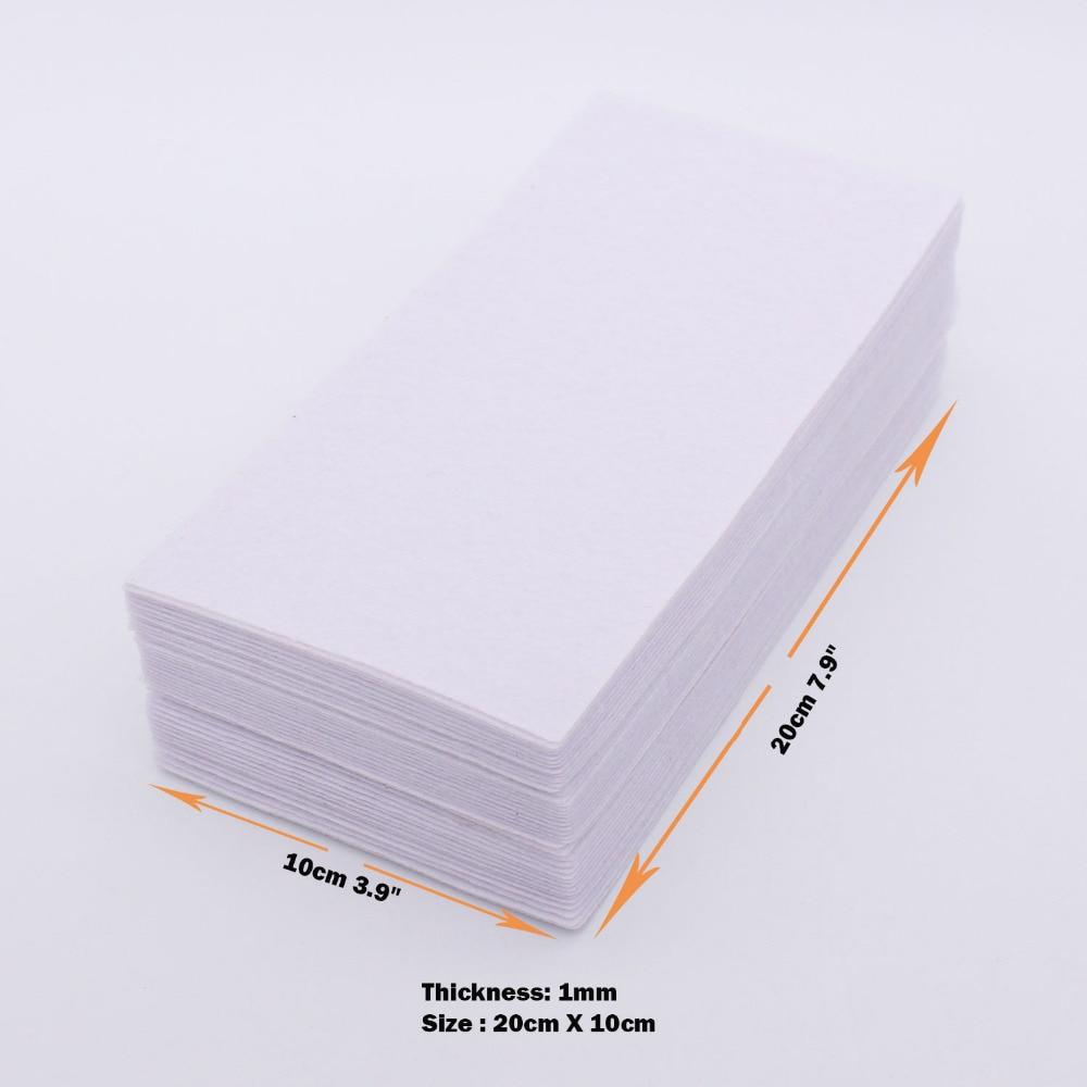 1 мм Wihte войлочная ткань в стиле пэтчворк нетканый материал на основе полиэстера для рукоделия Diy Швейные ручной работы из войлока Творческий алфавит